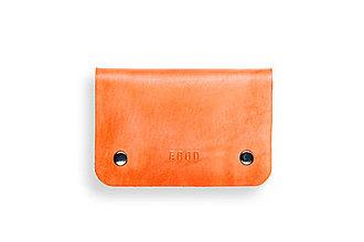 Peňaženky - Eggo peňaženka Smith S oranžová - 7167512_