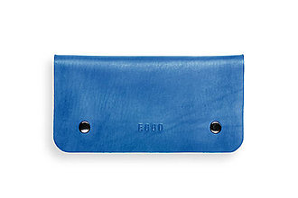Peňaženky - Eggo peňaženka Smith L modrá - 7167534_