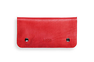 Peňaženky - Eggo peňaženka Smith L červená - 7167597_