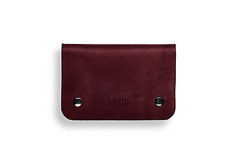 Peňaženky - Eggo peňaženka Smith M fialová - 7167702_