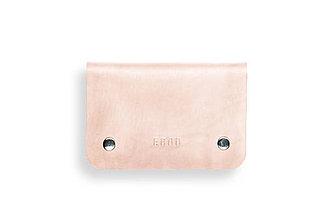 Peňaženky - Eggo peňaženka Smith M prírodná (nefarbená) - 7167750_