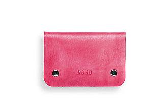 Peňaženky - Eggo peňaženka Smith M ružová - 7167778_