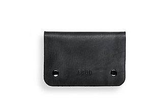 Peňaženky - Eggo peňaženka Smith M čierna - 7167806_