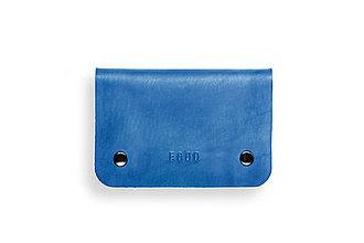 Peňaženky - Eggo peňaženka Smith M modrá - 7167888_