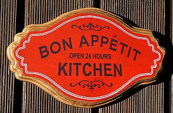 Tabuľky - Tabuľka Kitchen - 7168230_