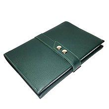 Papiernictvo - Kožený zápisník A5 (144 listov) - 7172289_
