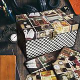 Iné - MODERN STYLE (BLACK BOX 4 truhlica + podložky pod poháre) - 7171815_