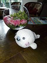 Hračky - Malý tuleník Mamegoma - 7171273_