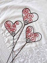 na vlnách lásky...srdce-zápich