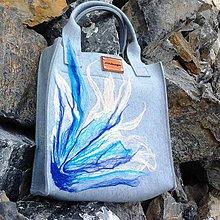 Veľké tašky - Na modré vlně... - 7170834_