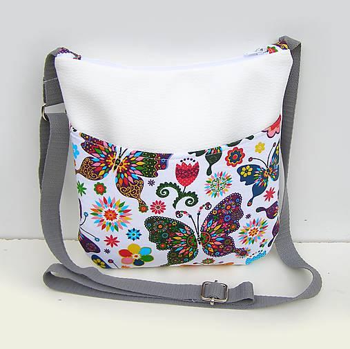 Biela malá kabelka