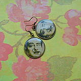 - Salvator Dalí -  náušnice průměr 25 mm  - 7172999_