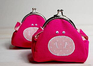 Detské tašky - Prasiatko taštička - 7173335_