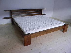 Nábytok - Posteľ z masívneho dreva - 7173067_