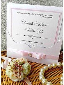 Papiernictvo - svadobné oznámenie 210 - 7169550_