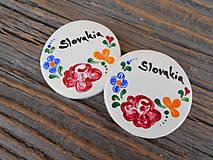 Magnetky - okrúhla magnetka Slovakia 7 - 7173456_