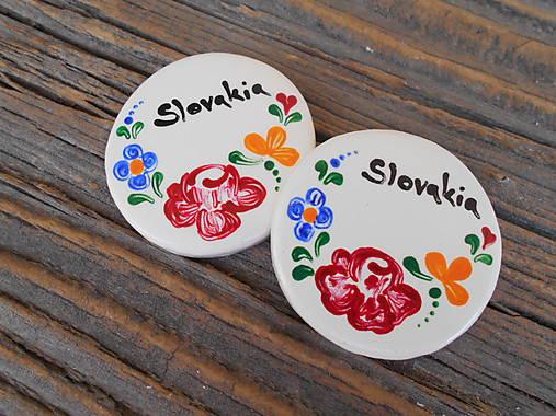 okrúhla magnetka Slovakia 7