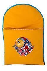 Textil - spací vak Bambula pre novorodencov- akcia -30% - 7174639_