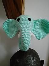 Hračky - Hrkálka sloník Bim - 7176496_
