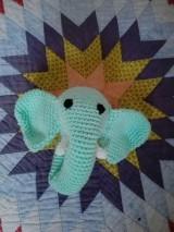 Hračky - Hrkálka sloník Bim - 7176499_