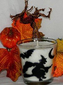 Svietidlá a sviečky - Sviečka Halloween - 7176682_