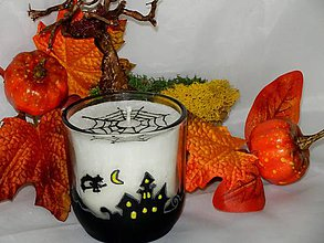 Svietidlá a sviečky - Sviečka Halloween - 7176829_