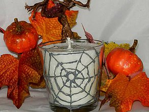 Svietidlá a sviečky - Sviečka Halloween - 7177264_