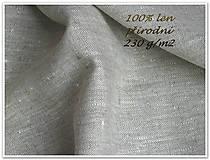 Textil - Cotage Wall  100%len..metráž - 7173527_