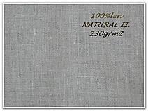 Textil - 100% len NATURAL II. - 7173531_