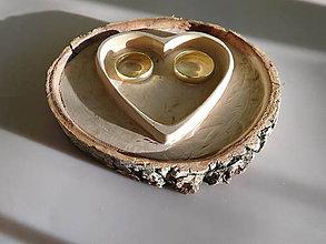 Prstene - vintage svadba/vankúšik pod svadobné prstene IX - 7173780_