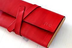 Peňaženky - Dámska peňaženka WALLET (RED) - 7174756_