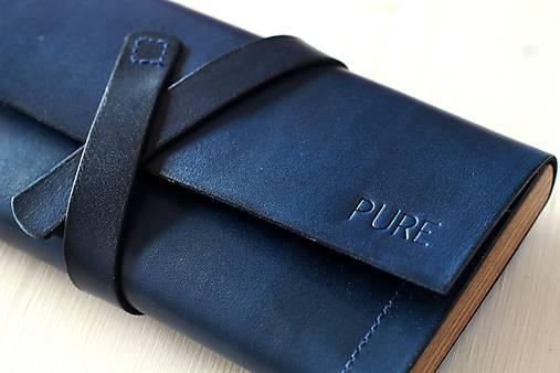 Dámska peňaženka WALLET (ROYAL BLUE)   PURE - SAShE.sk - Handmade ... 9462d89b67c