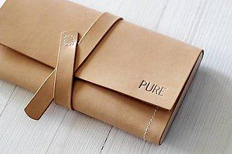 Peňaženky - Dámska peňaženka WALLET NATURAL - 7174906_