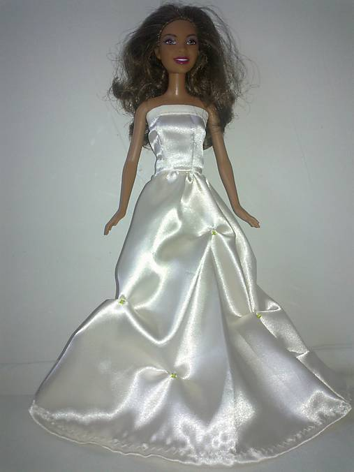 Princeznovské svadobné šaty pre Barbie   TrishaFate - SAShE.sk ... b1799512686