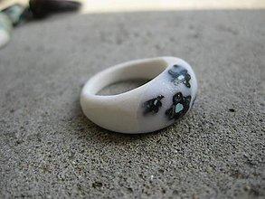 Prstene - Fimo prsteň - 7177020_