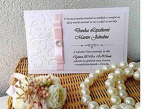 Papiernictvo - svadobné oznámenie 208 - 7173854_