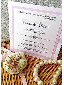 Papiernictvo - svadobné oznámenie 207 - 7173859_