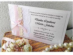 Papiernictvo - svadobné oznámenie 205 - 7173928_