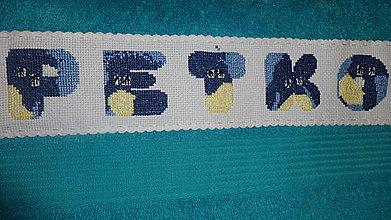 Úžitkový textil - Uterák PEŤKO - 7177633_