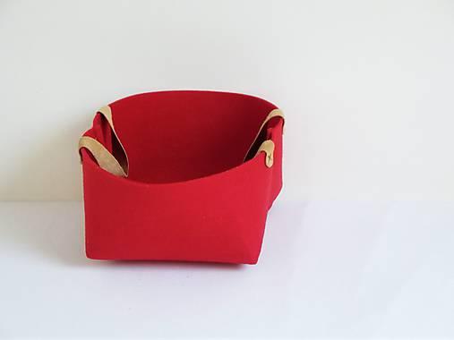 Košík filcový