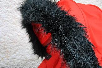 Textil - Kožušinka na striešku ČIERNA - 7180346_