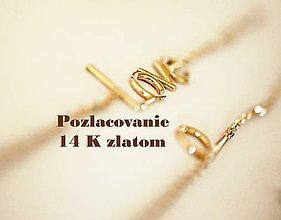 Iné šperky - POZLACOVANIE 14K ZLATOM - 7181958_