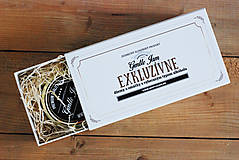 Drobnosti - Kašírovaná kartónová krabička na 2 produkty - 7180538_