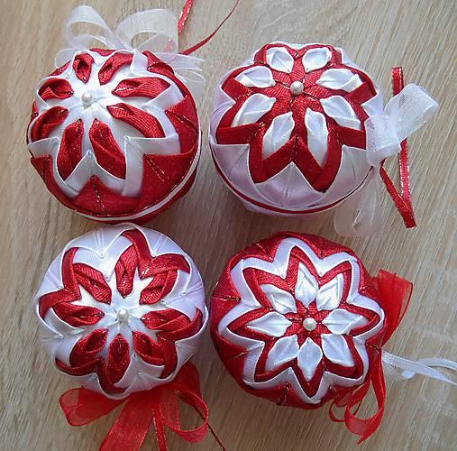 bfca883ff Vianočné gule I. / ViKa-patchwork - SAShE.sk - Handmade Dekorácie