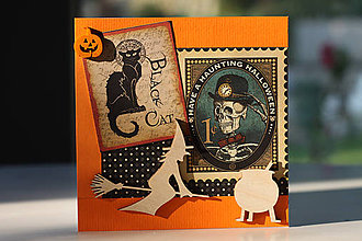 Papiernictvo - Pohľadnica Halloween 5 - 7178838_