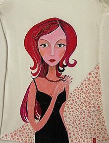 Tričká - Saška , dámske tričko S/M - 7179491_