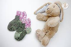 Topánočky - Detské ponožtičky - 7179630_