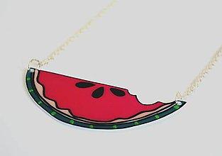 Náhrdelníky - Náhrdelník Melón - 7180421_
