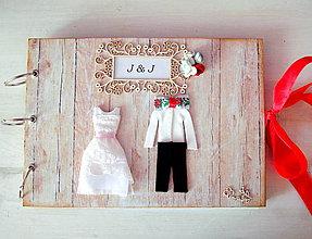 Papiernictvo - Ľudová  svadba - 7179706_