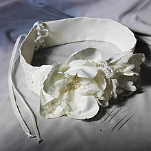Opasky - Opasok na svadobné šaty - 7181170_